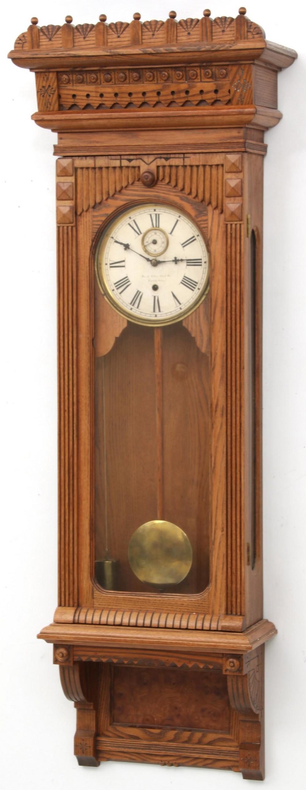 Gilbert No. 11 Wall Hanging Clock