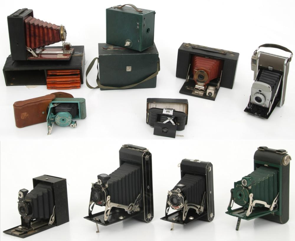 Group of 10 Cameras