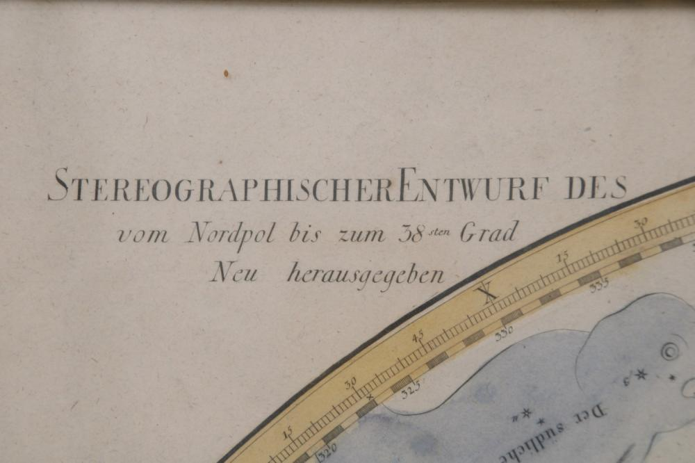 German Stereographic Design of the North Pole