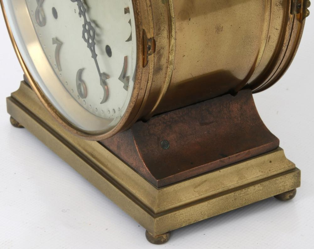 "Seth Thomas ""Denton"" Ship's Bell Clock"