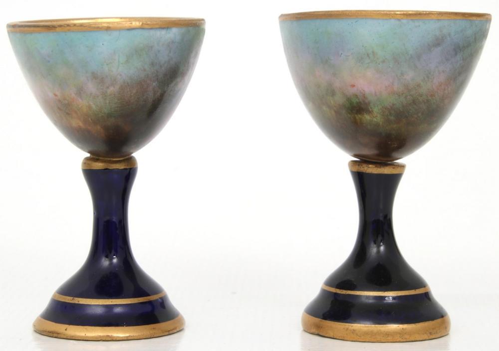 Four Royal Vienna Porcelain Items