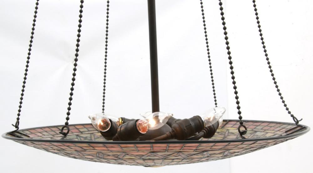 Tiffany Studios 24 in. Inverted Hanging Lamp