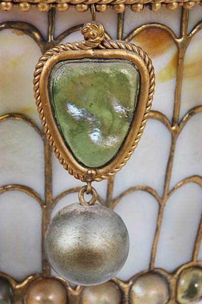 Tiffany Studios Moorish Style Hall Lantern