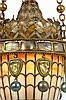 Image 10 for Tiffany Studios Moorish Style Hall Lantern