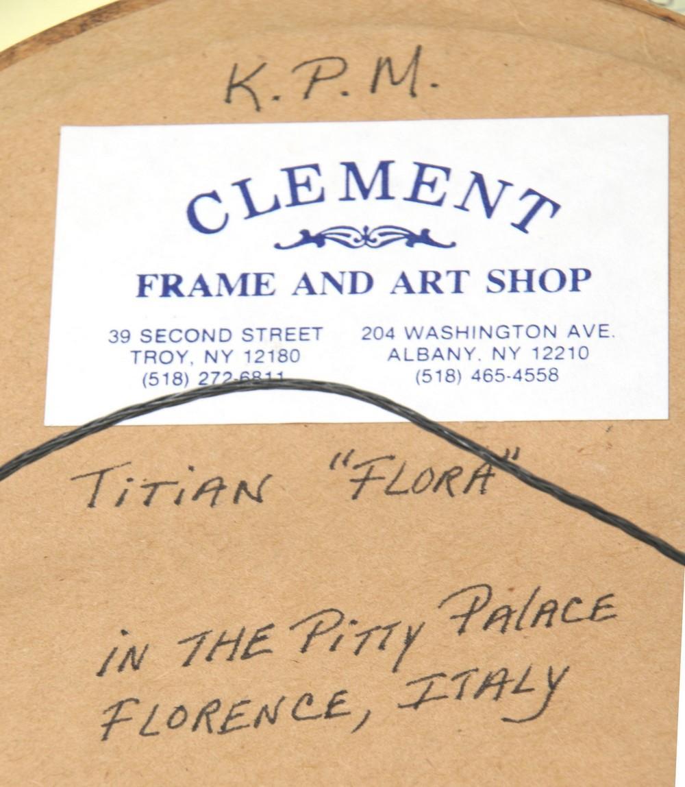 Four KPM Porcelain Plaques