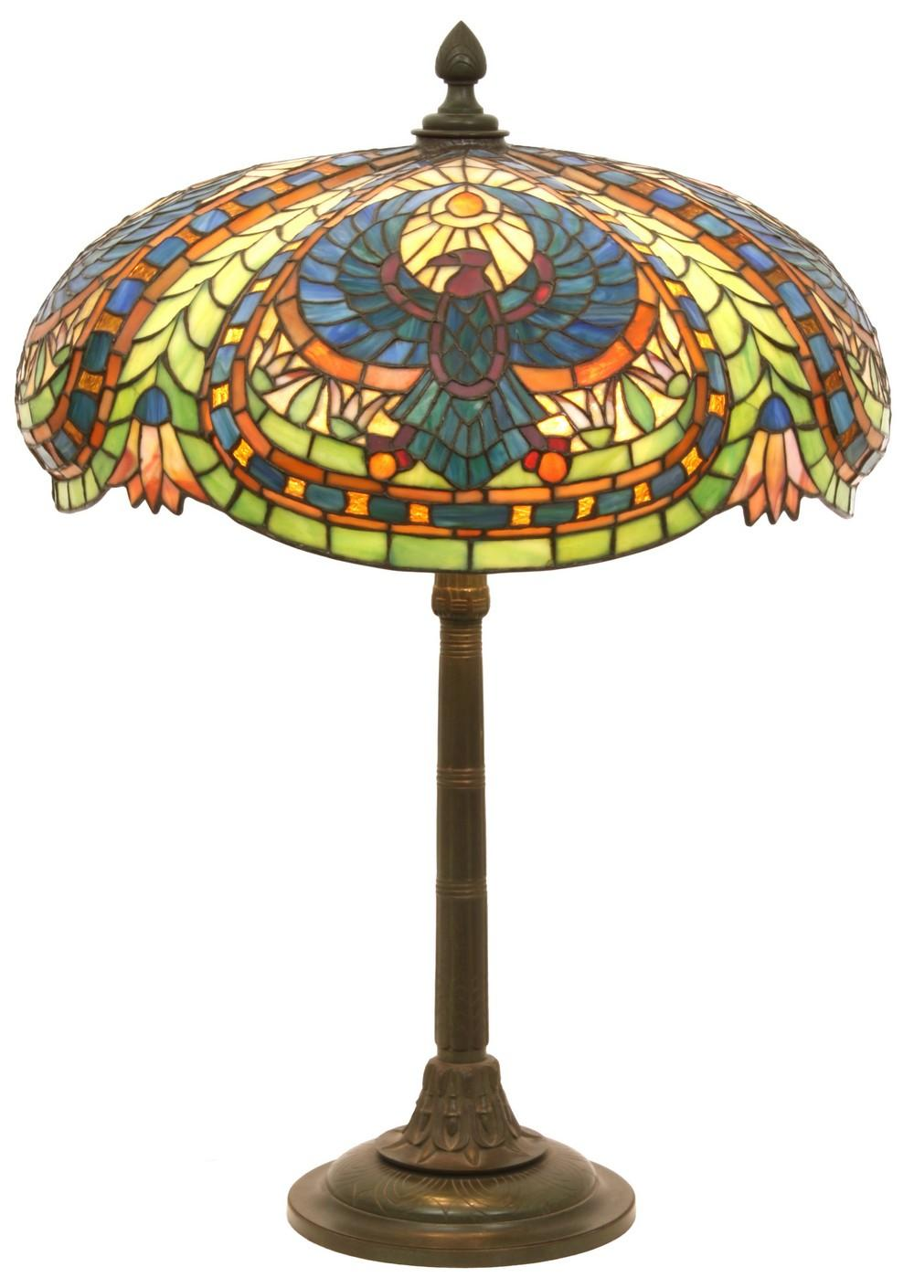 "Gorham ""Egyptian Vulture"" Table Lamp"