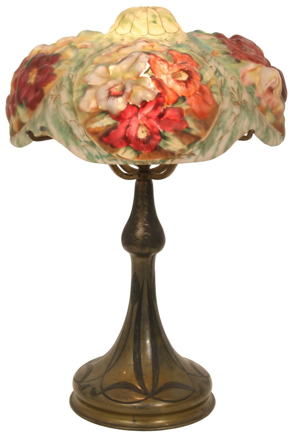 Pairpoint Puffy Oxford Table Lamp