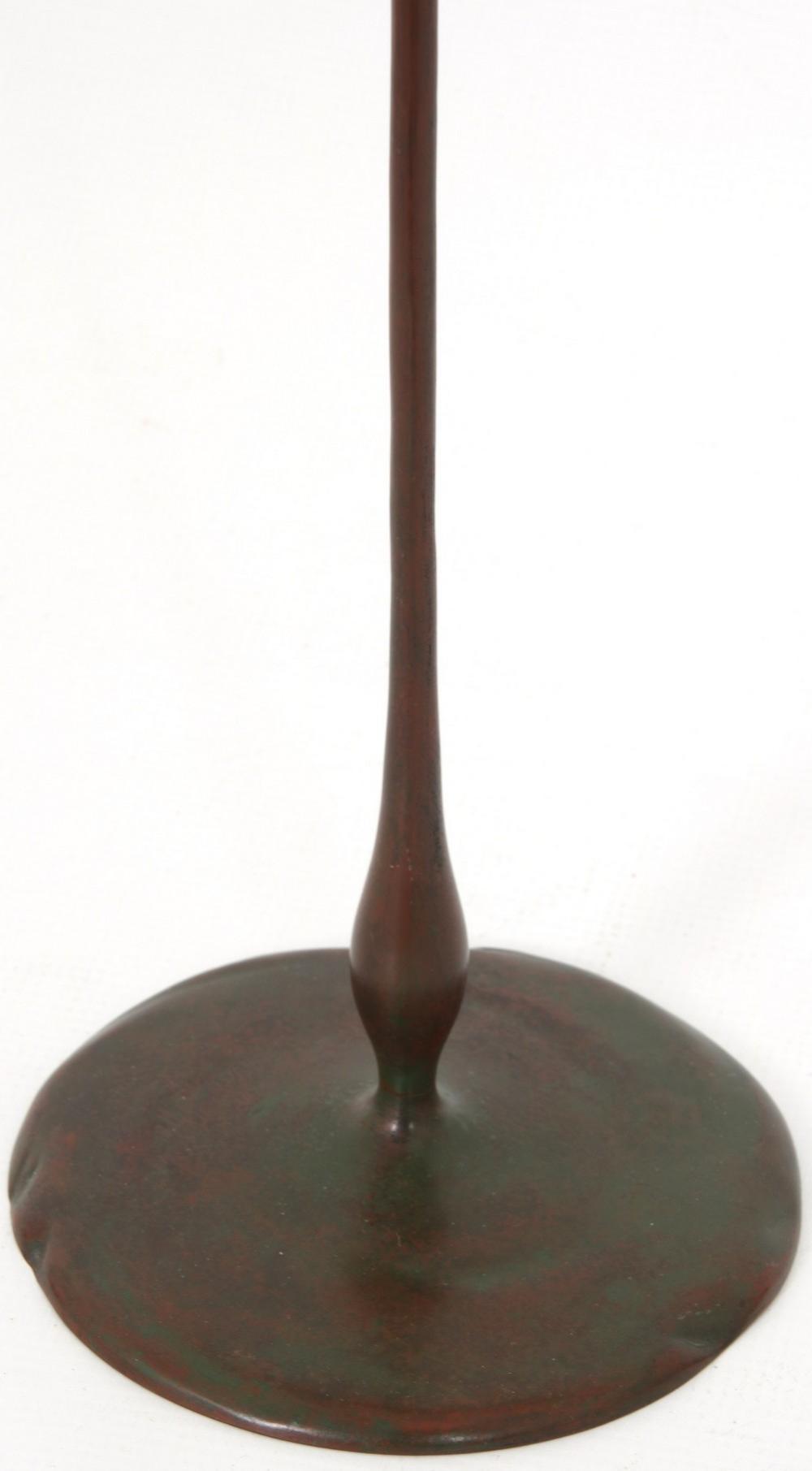 Tiffany Studios Floriform Candlestick