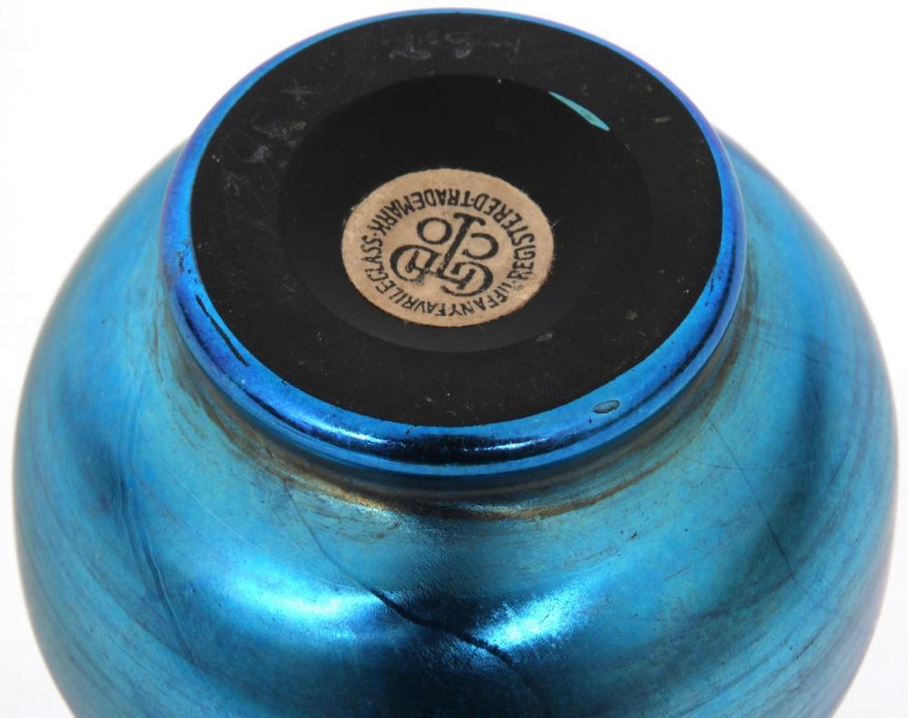 Tiffany Studios Favrile Glass Perfume Bottle