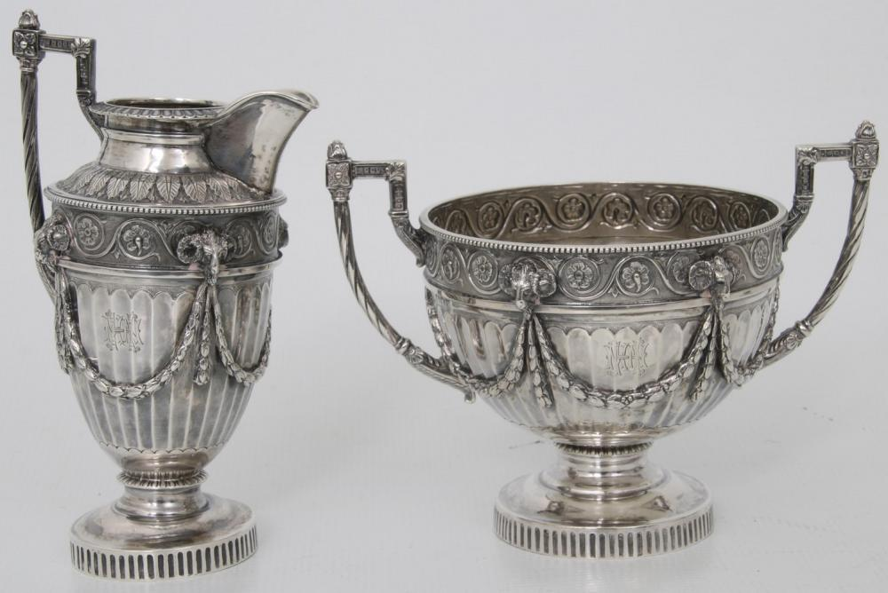 Mappin & Webb Sterling Silver Tea Set