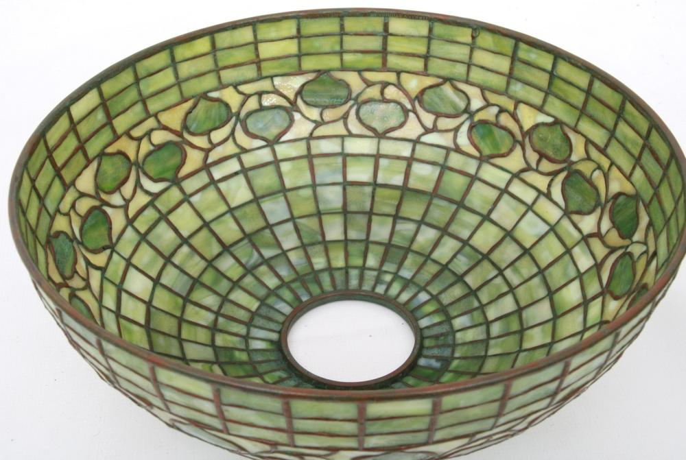 Tiffany Studios Acorn Table Lamp