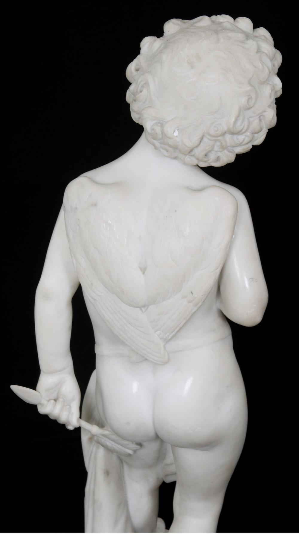 Marble Sculpture of Cupid