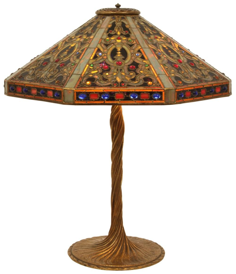 Tiffany Studios Elizabethan Table Lamp