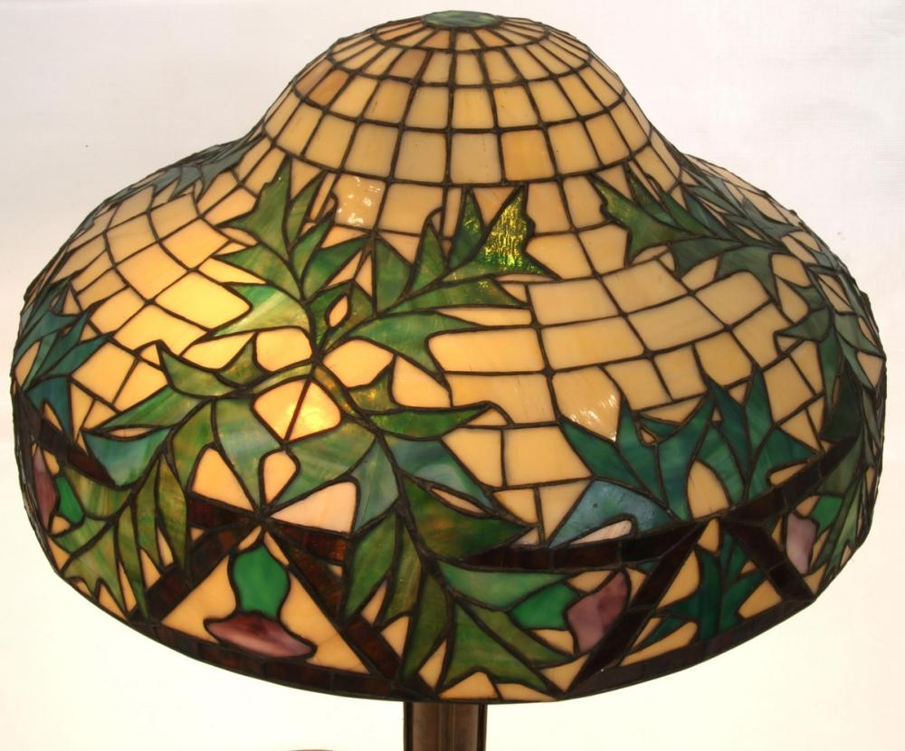 Suess Leaded Glass Table Lamp