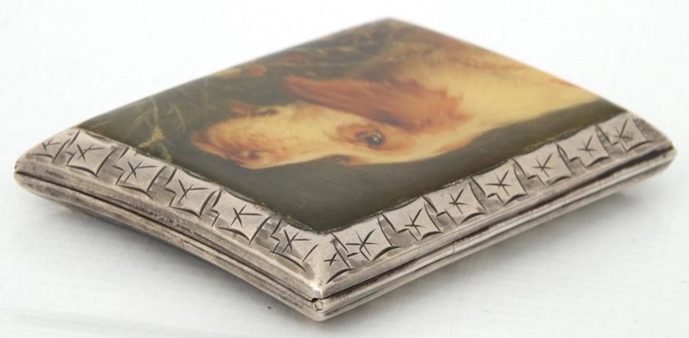 Six Enamel & Silver Cigarette Cases
