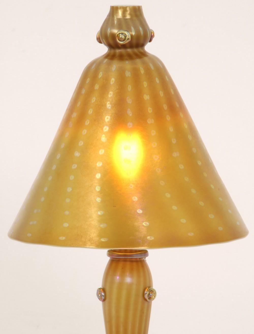 Tiffany Studios Arabian Boudoir Lamp