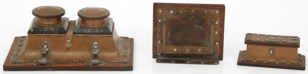 Attr. Joseph Heinrich Desk Set