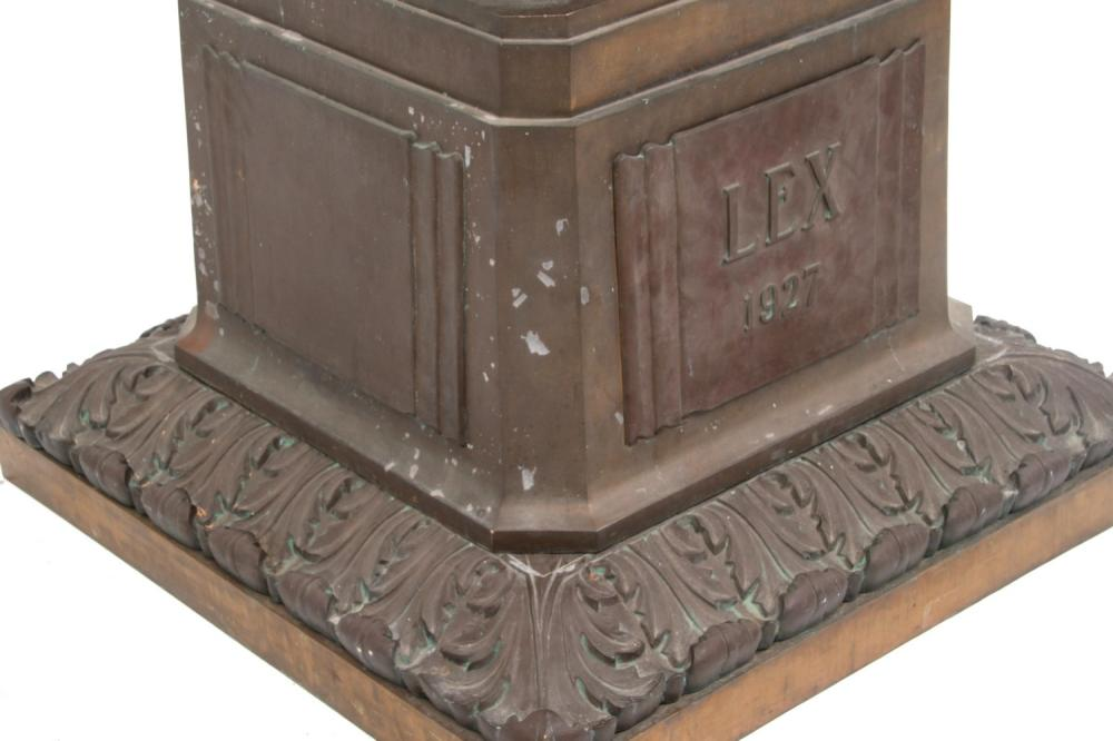 Pair of Bronze Torchieres, Chicago Courthouse