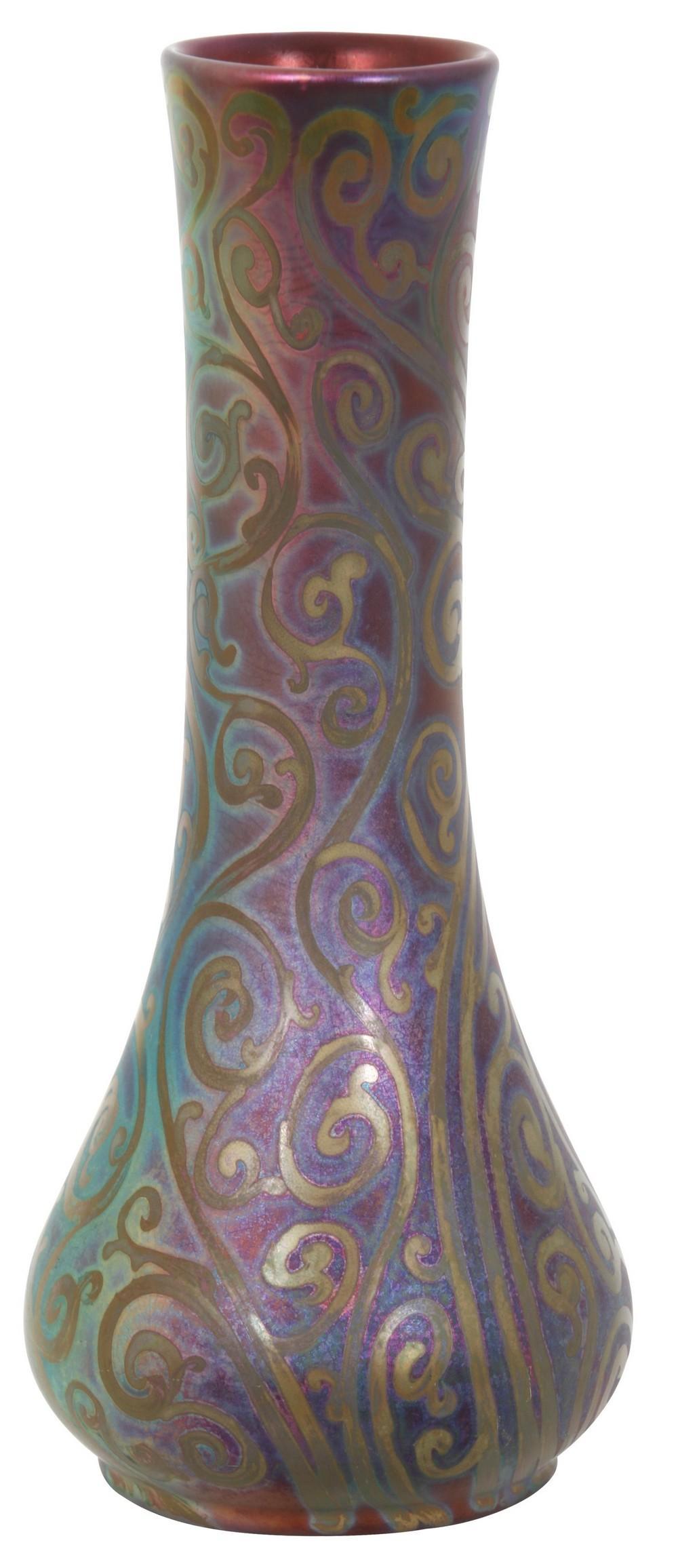 Weller Sicard Iridescent Vase