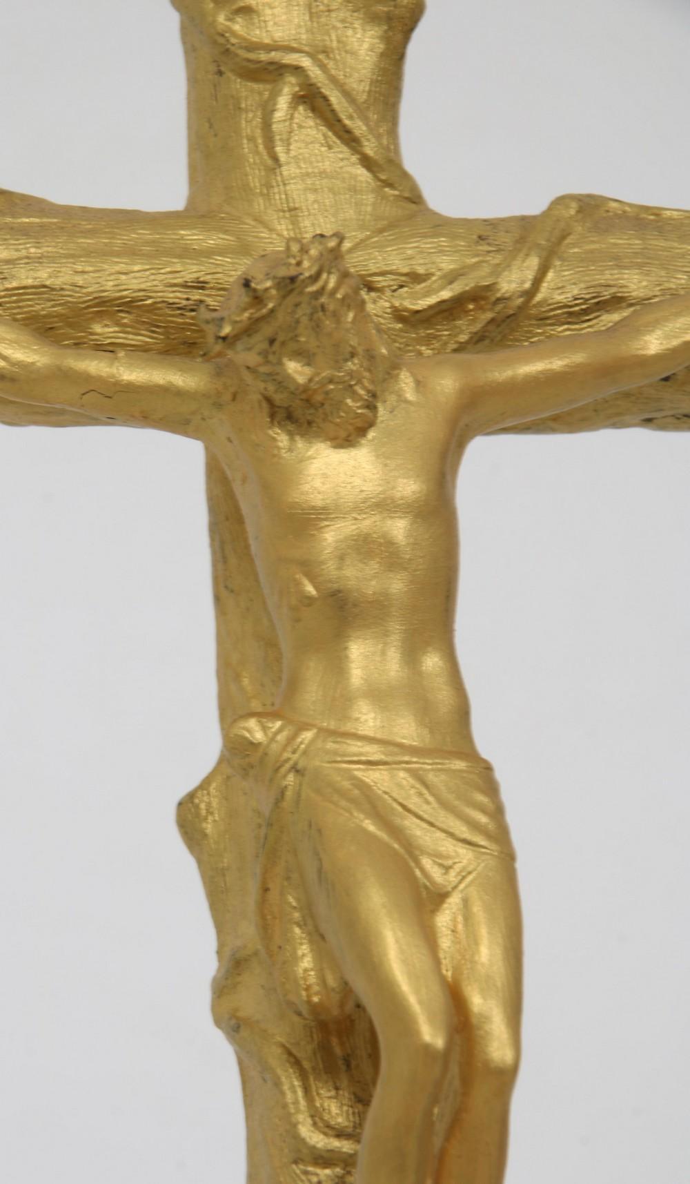 Gilt Bronze Crucifix