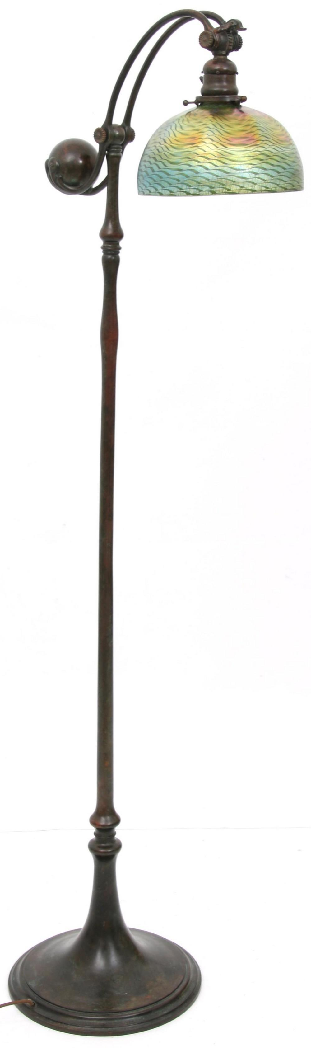 Tiffany Studios Counterbalance Floor Lamp
