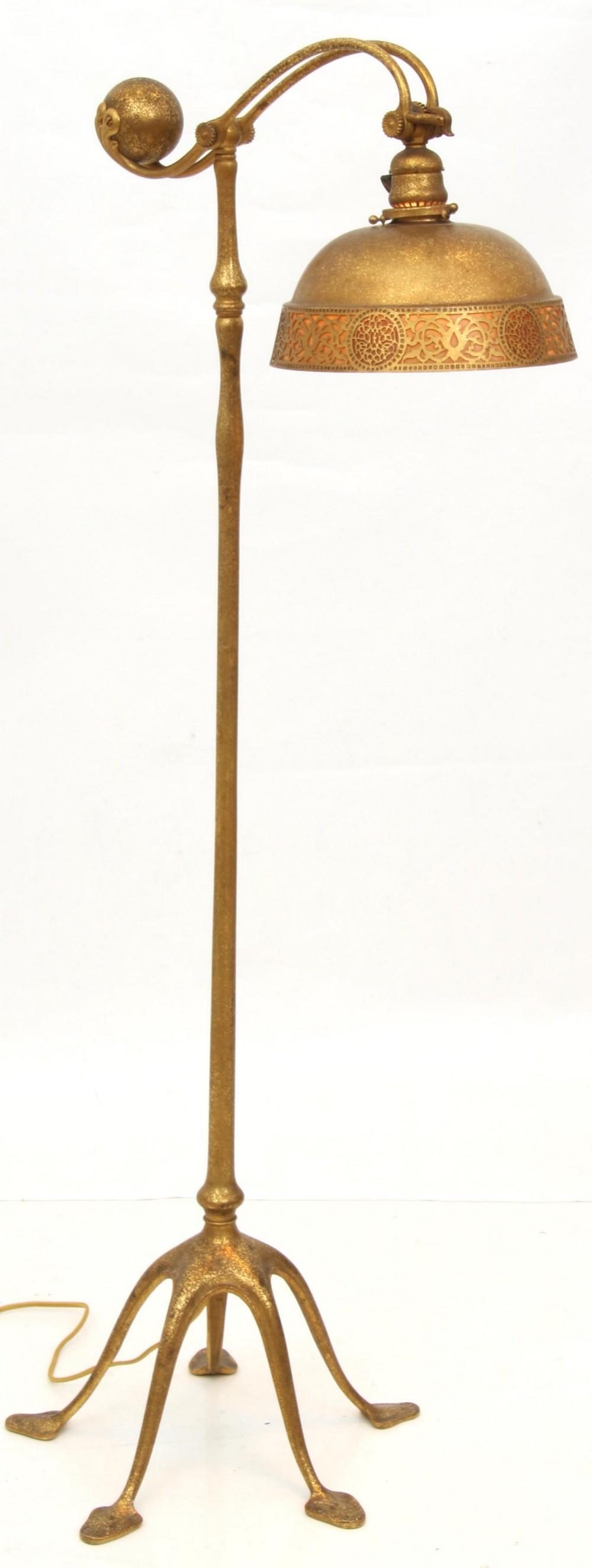 Tiffany Studios Counterbalance Floor Lamp