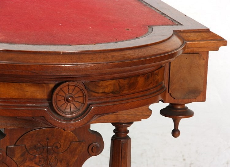 Attr: Thos. Brooks Library Table