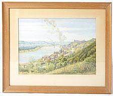 FREDERICK WILLIAM KOLDE (CINCINNATI, OH) WATERCOLOR