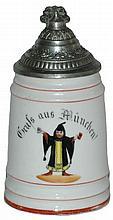 Munich Child 1/4 L. Porcelain POG Stein