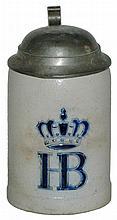 HB under the Crown Mini Stoneware 1/8 L. Stein