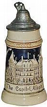 Souvenir Mini 1/8 L.  Stein of Albany NY Capitol
