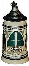 Buffalo New York Souvenir Mini 1/4 L. Stein