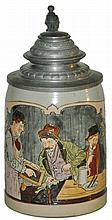 Drunk Without Cash Marzi Remy Etched Stein
