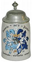 Dueling Fraternal Student Shield Stein