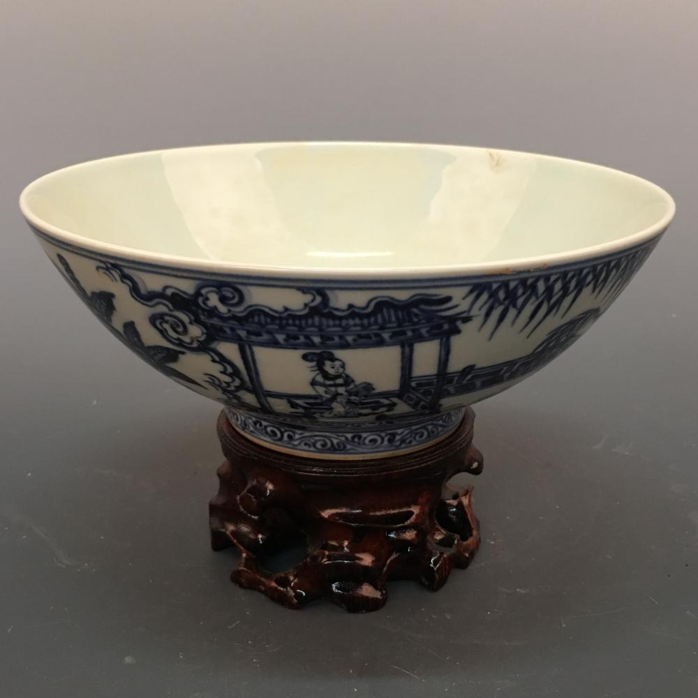 Chinese Blue&White Bowl, Xuande Mark