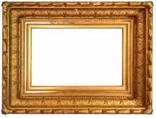 AMERICAN 19TH CENTURY HUDSON RIVER SCHOOL ANTIQUE FRAME