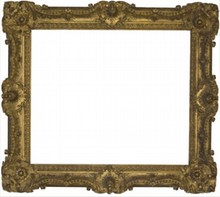 FRENCH 18TH CENTURY ANTIQUE FRAME