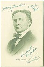 MUSIC HALL AUTOGRAPH ALBUM - INCL. HARRY HOUDINI etc
