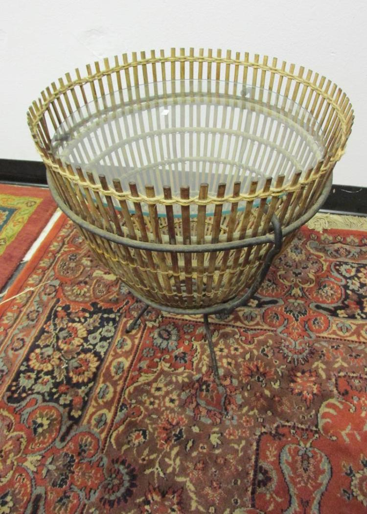 Fish trap side table for L fish furniture