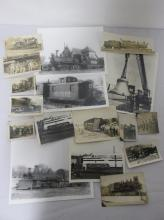 COLLECTION OF ANTIQUE RAILROAD PHOTOGRAPHS