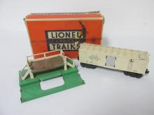 LIONEL NO. 3472 MILK CAR WITH BOX