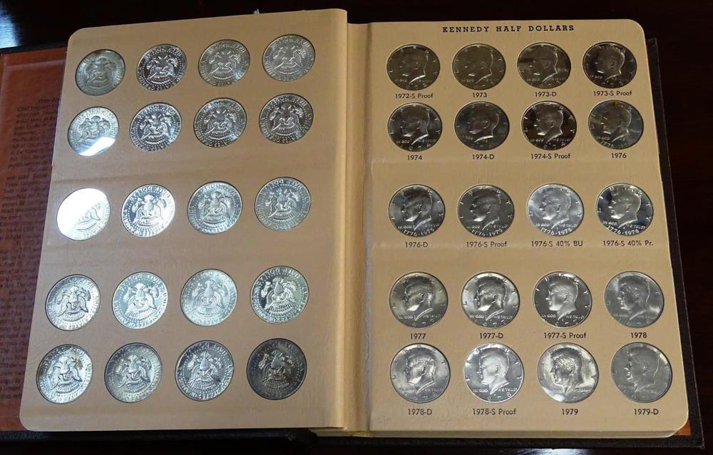 1964-2012 KENNEDY HALF DOLLAR COLLECTION