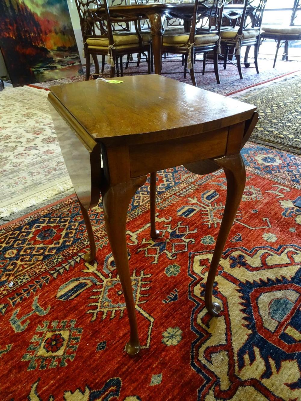 BAKER FURNITURE QUEEN ANNE STYLE TABLE