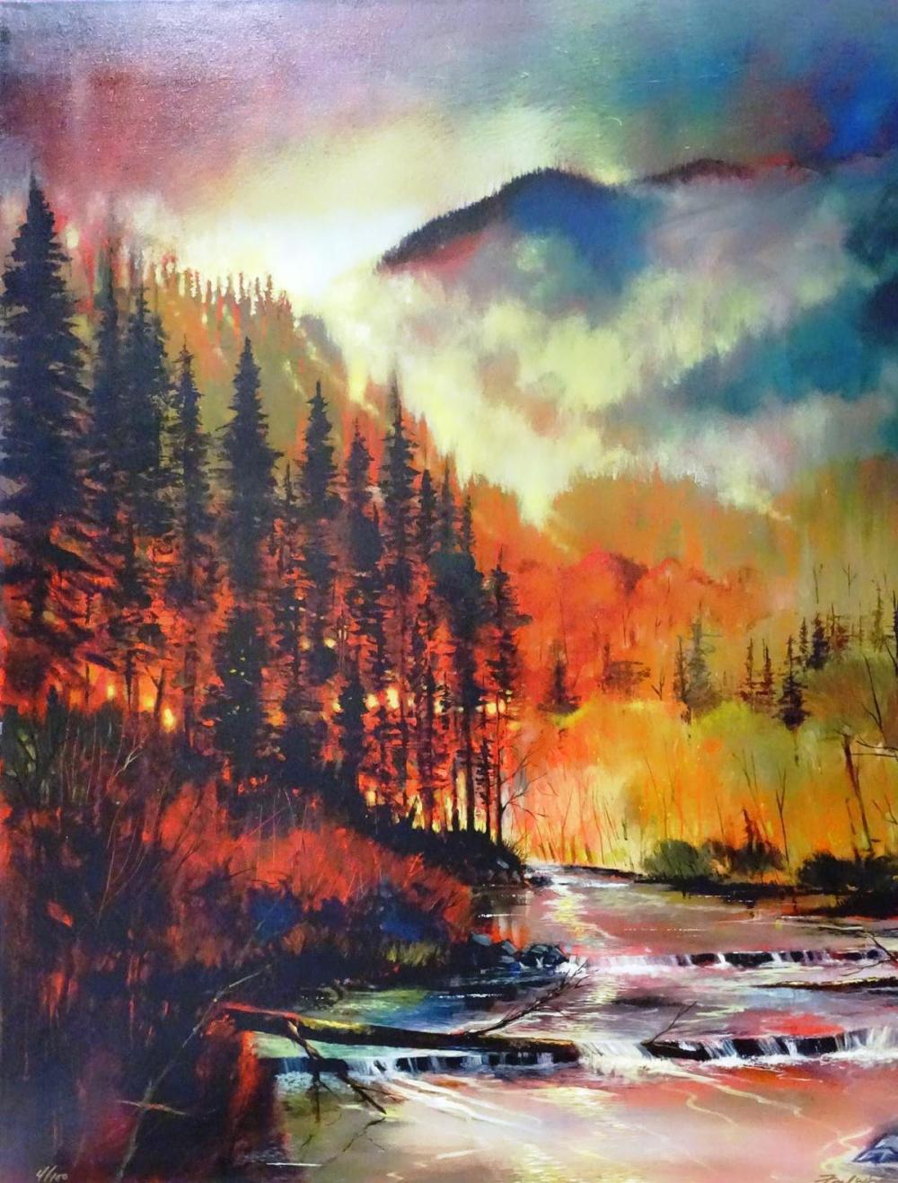 FORD SMITH GICLEE ON CANVAS