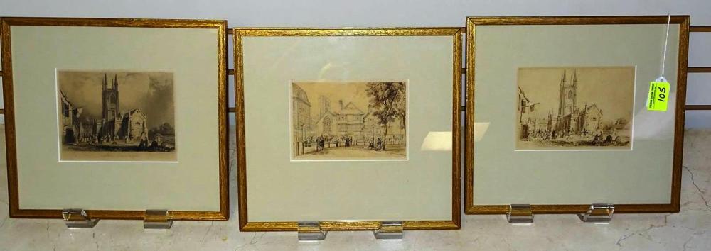 W.H. BARTLETT (BRITISH, 1809-1854) ETCHINGS