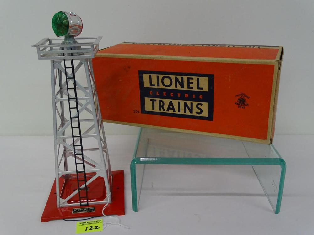 LIONEL TRAINS #394 ROTATING BEACON