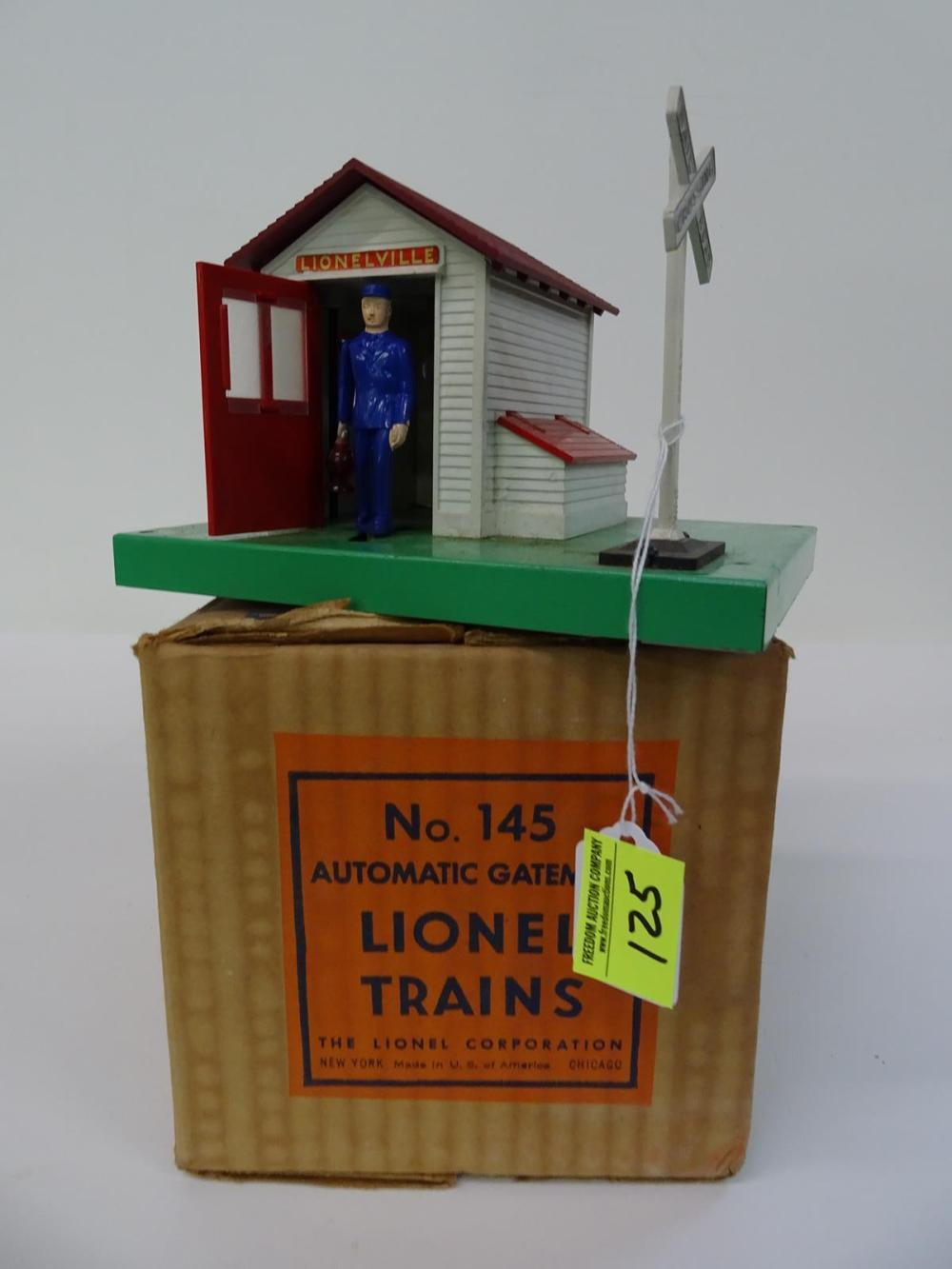 LIONEL TRAINS #145 AUTOMATIC GATEMAN