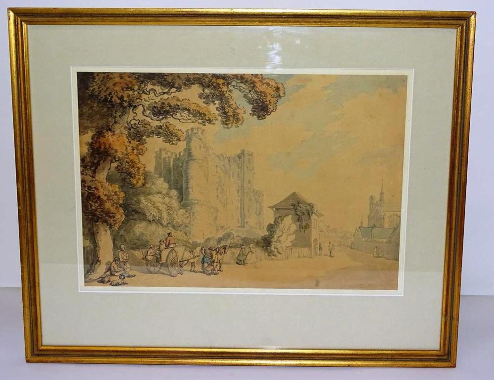 THOMAS ROWLANDSON (1756-1827, BRITISH) PRINT