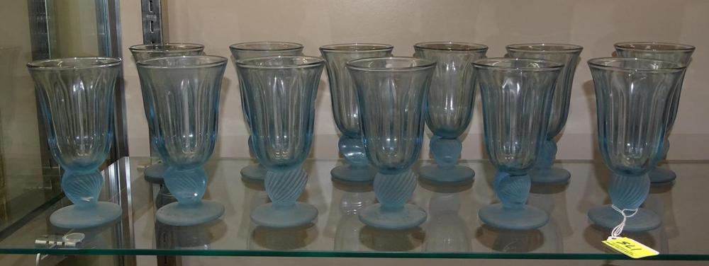 FOSTORIA ICE CREAM GLASSWARE
