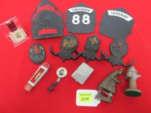 COLLECTION OF FIREMATIC TRINKETS
